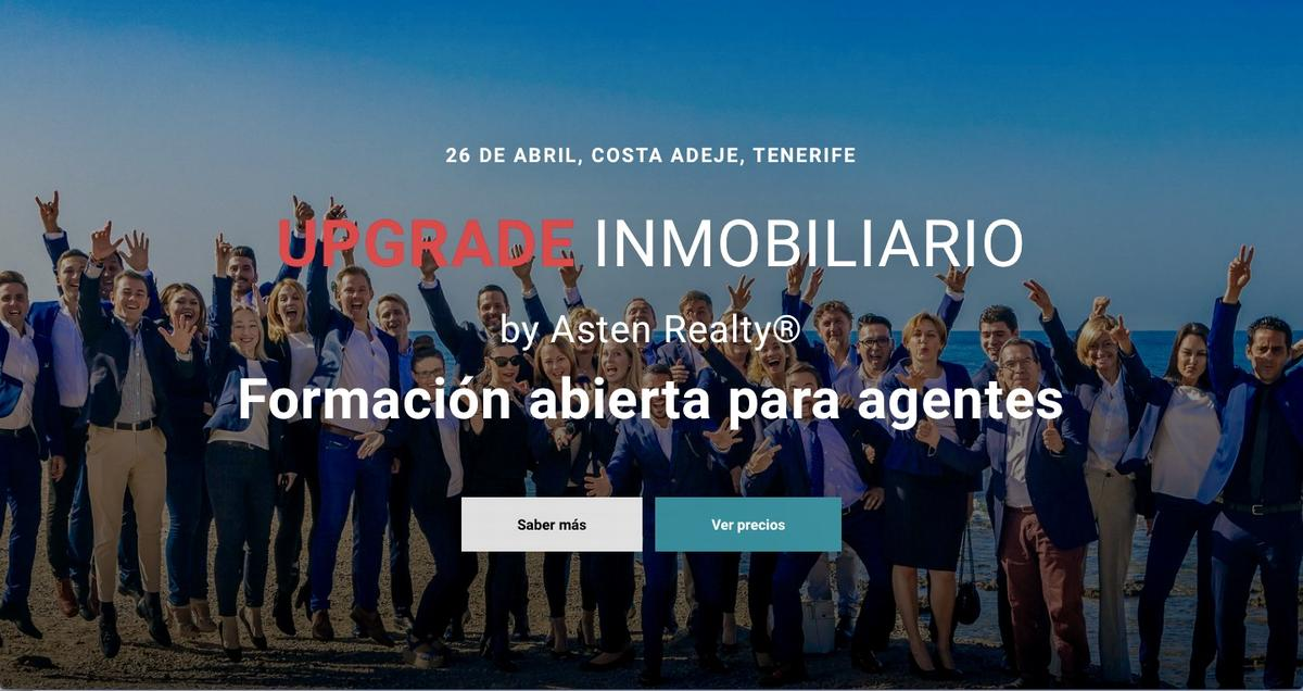 UPGRADE INMOBILIARIO - Open training for real estate agents in Tenerife