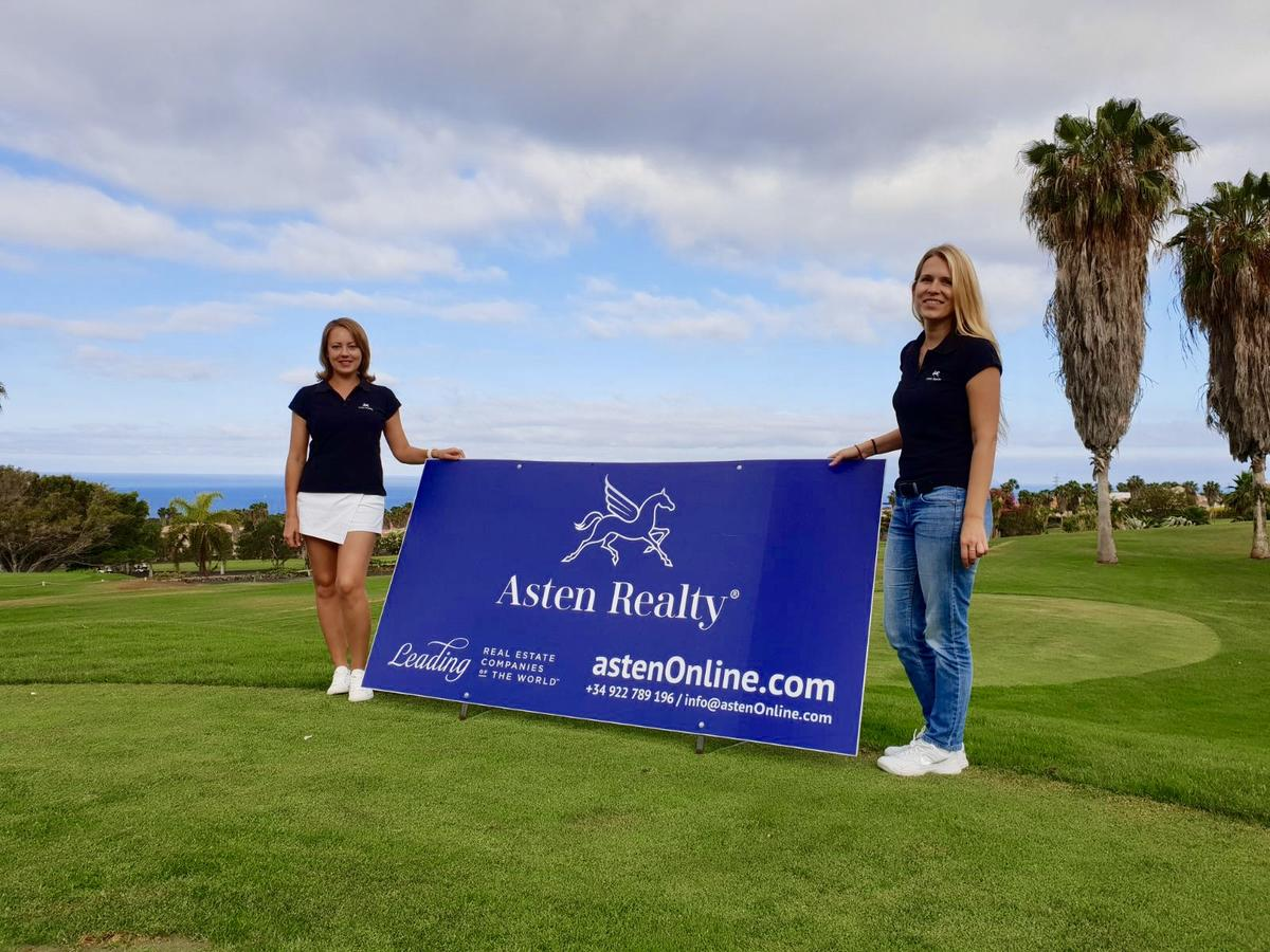 Asten Realty® sponsors a charity golf