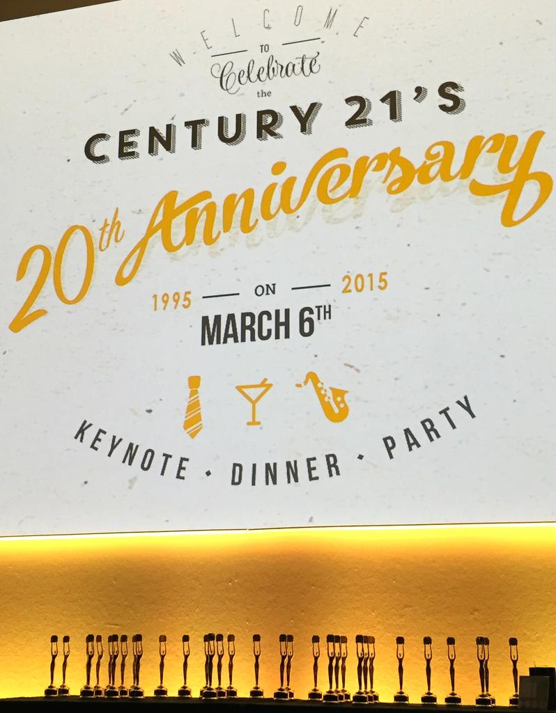Century21 Asten visits the 20th Anniversary of Century21 Belgium