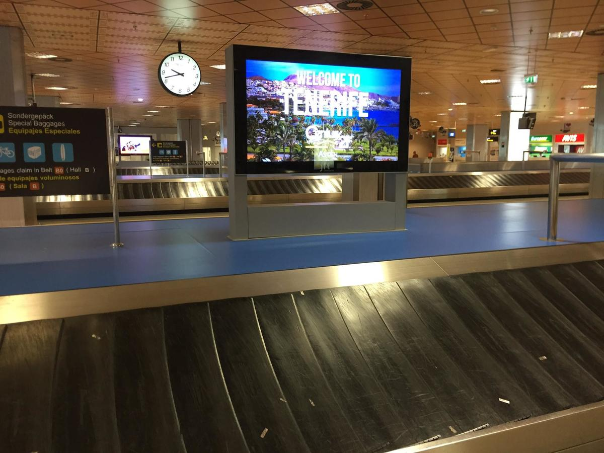 Century21 Asten in the largest airport of the Canary Islands!