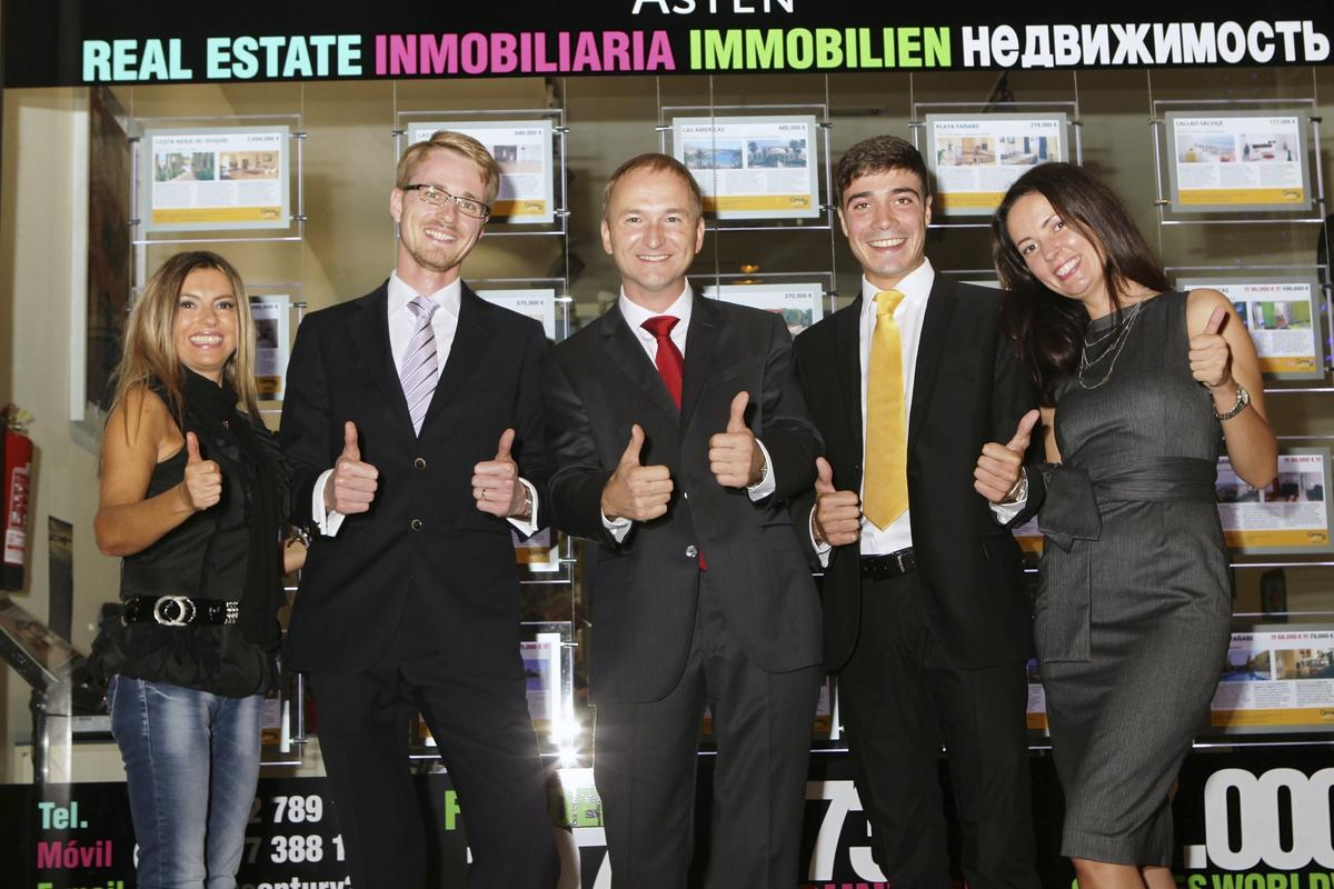 Inauguration of the first CENTURY 21 office in Tenerife
