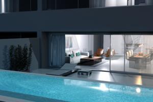 Дуплекс Люкс с 2 спальнями - Los Gigantes - Aqua Suites (3)