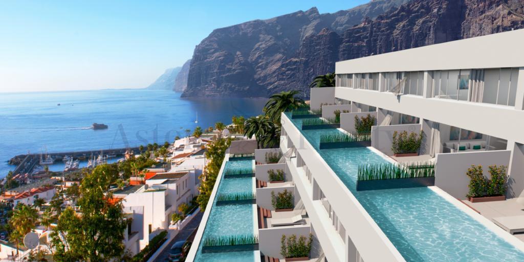 Дуплекс Люкс с 2 спальнями - Los Gigantes - Aqua Suites