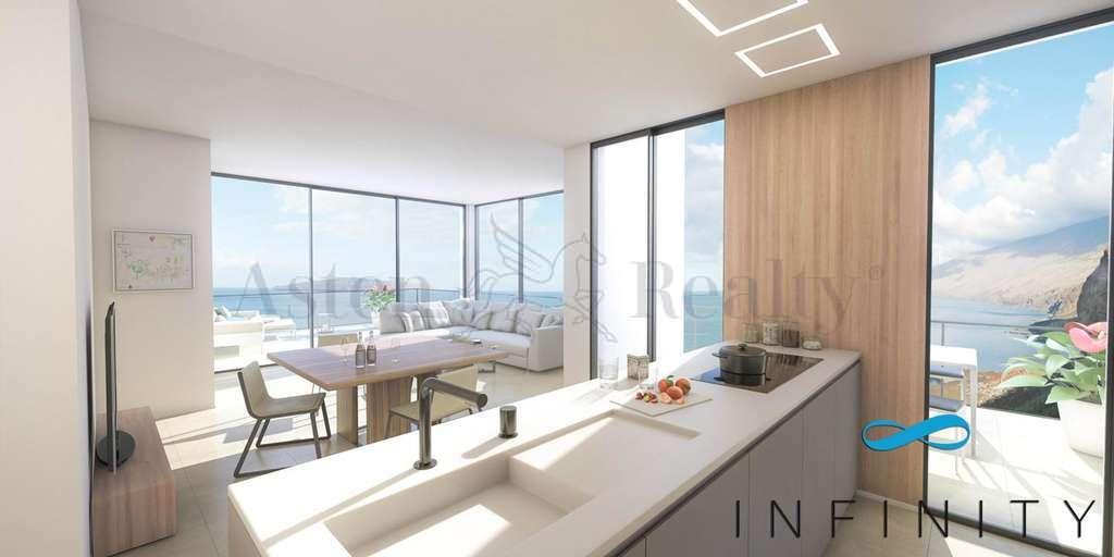 Квартира с 2 спальнями - Palm Mar - Infinity Seafront Luxury Residence