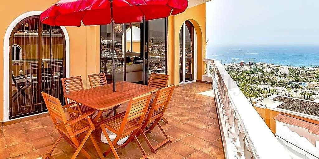 Вилла с 4 спальнями - San Eugenio Alto - Ocean View